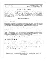 resume example   cook resume objective examples  sample of cook    cook resume objective examples best cook resume objective sample