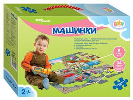 <b>Пазл Step puzzle</b> Baby Step Машинки (70102), 42 дет. — купить ...