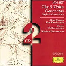<b>Mozart</b>: The 5 Violin Concertos; Sinfonia Concertante by <b>Gidon</b> ...