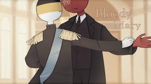 BLOODY MARY meme | (Countryhumans) - YouTube