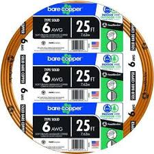 Bare Copper - <b>Wire</b> - Electrical - The Home Depot