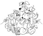 Раскраски из мультфильмов для детей