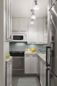 design compact kitchen ideas small layout: super narrow kitchen that provide enough storage space