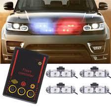 <b>4x2 LED</b> Wire Control Car Truck Police Strobe Emergency <b>Flashing</b> ...