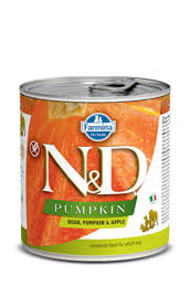 <b>Консервы Фармина N&D</b> Pumpkin, Boar & Apple <b>Adult</b> ...