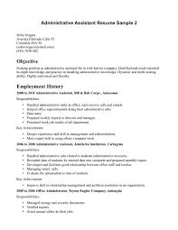 assistant resume skills profile administrative  c c coassistant resume skills