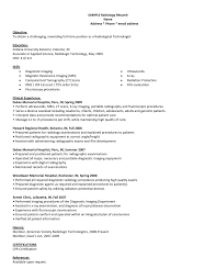 radiologist radiologic technologist resume sample eager world it