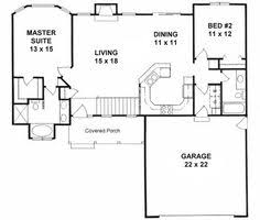 ideas about Small House Plans on Pinterest   House plans    Plan     Ranch style small house plan  bedroom split