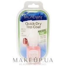 <b>Быстросохнущий фиксатор лака</b> - Kiss <b>Broadway</b> Quick Dry Top ...
