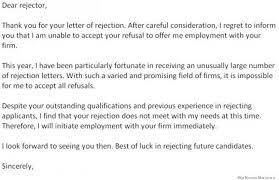 Dear Rejector… – Hilarious Rejection Response Letter | WeKnowMemes dear rejector letter