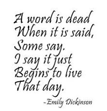 Emily Dickinson on Pinterest | Love Is, Poem and Poetry via Relatably.com