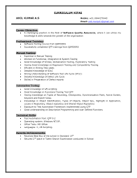 resume format for software testing professional resume builder resume format for software testing professional resume software testing resume ellsworth creations fresher resume tester