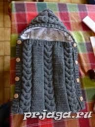 <b>Конверт</b> спицами малышу | Узоры для вязания детских вещей ...