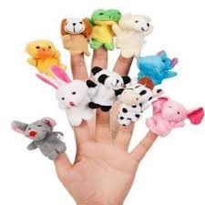 Buy Image <b>Children's Cartoon Animal</b> Finger Puppets Plush <b>Toys</b> ...