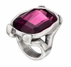 Купить <b>Кольцо</b> «<b>Hold</b> on» Фиолетовый ручной работы в бутиках ...