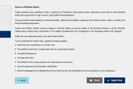 澳洲打工度假 應徵澳洲最大雪山perisher工作 chiayi traveling dannypingu 這裡選kitchen hand當示範,一樣會先介紹工作內容,了解後按apply now繼續應徵。