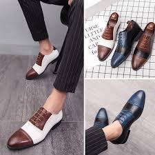 Brand <b>Pointed</b> Toe <b>Men</b> Shoes <b>Business Men</b> Office Formal Leather ...