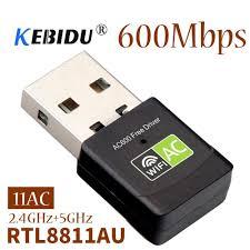 2.4+5 Ghz Mini <b>Wireless</b> USB <b>Wifi Adapter Free Driver</b> Receiver ...