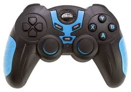 Купить <b>Геймпад</b> Ritmix GP-031BTH черный/синий по низкой цене ...