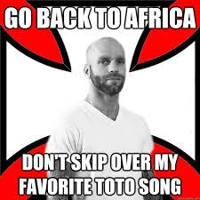 Skinhead with a Heart of Gold memes   quickmeme via Relatably.com