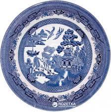 ROZETKA | <b>Тарелка суповая</b> глубокая Churchill Blue <b>Willow</b> ...