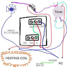 how to change thermostat in excalibur dehydrator to fix heat problem diagram to re wire 5 tray excalibur
