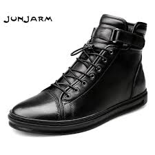 Detail Feedback Questions about <b>JUNJARM Men</b> Boots Warm Plush ...