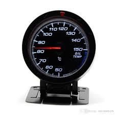 2.5 Inch <b>60MM 12V</b> Car Gauge Meter <b>Oil</b> Temp Temperature Gauge ...