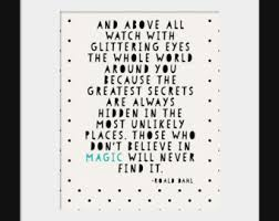 roald dahl quote – Etsy via Relatably.com