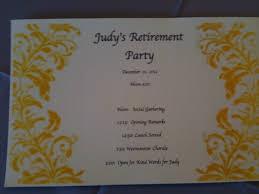 retirement party program template retirement party program template tk