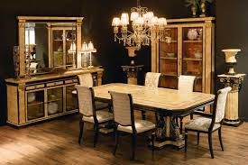 room simple dining sets: dining roomsimple luxury dining table set with nice gold color scheme luxury dining table