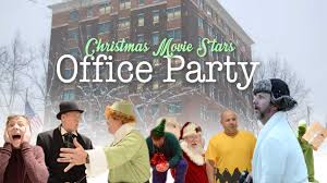 christmas movie stars office party christmas movie stars office party