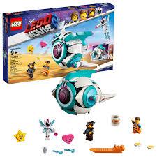 <b>LEGO Movie</b> Sweet Mayhem's Systar Starship! <b>70830</b> Starship Toy ...