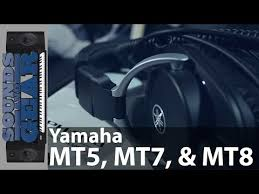 <b>Yamaha HPH</b>-<b>MT5</b>, MT7 и MT8 — Обзор 3х студийных <b>наушников</b>