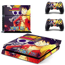 One piece <b>Skin Vinyl Skins</b> Sticker for Sony PS4 PlayStation 4 and 2 ...