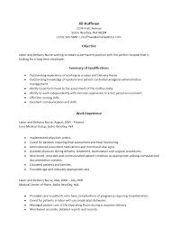 school nurse objective resume resume template social work objectives in resume for nurses