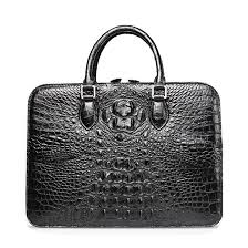 <b>Luxury Crocodile</b> Business <b>Bag</b> for Men
