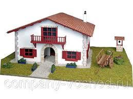<b>Сборная деревянная модель деревенского</b> дома Artesania Latina ...