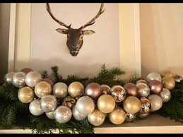 How to Make You Own Christmas <b>Ornament Garland</b> - YouTube