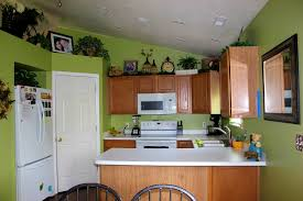 green color options kitchen
