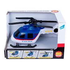 <b>Игрушка Вертолёт</b> полицейский <b>Big Motors</b> 2018-1E купить в ...