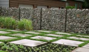 Small Picture Gabion Fences and Stone Walls Rock fence design Australia
