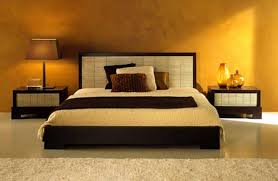 orange bedroom ideas waplag interior decorating yellow romantic with black bed and shade table lamp on awesome design black bedroom ideas decoration
