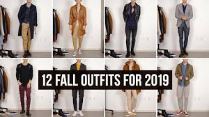 12 Stylish <b>Fall Autumn</b> Looks for 2019 | <b>Men's</b> Fashion | Outfit Ideas ...