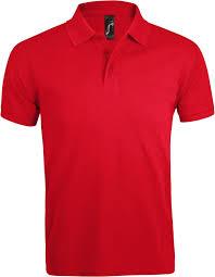 <b>Рубашка поло мужская PRIME</b> MEN 200 красная - Рекламное ...