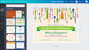 online certificate maker design a custom certificate canva design certificates your awardees will be proud to show off
