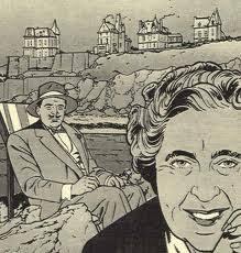 """Herkules Poirot ściga morderców"""". Herkules Poirot , postać stworzona przez Agathę Christie, to jeden z najsławniejszych detektywów na świecie. - imagescf"""