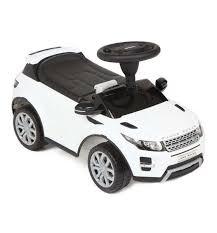 "<b>Каталка</b> детская ""Land Rover <b>Range Rover Evoque</b>"" (белая ..."