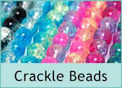 <b>Crackle Glass</b> Beads