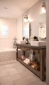 bathroom mirror features diy hardware bathroom remodel restoration hardware hack mercantile console table ha